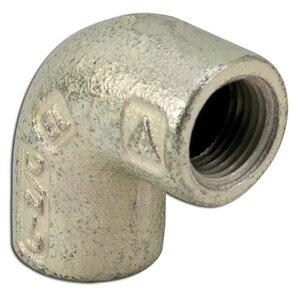 "Appleton ELF90-75 Elbow, 90°, 3/4"", Female/Female, Explosionproof, Malleable Iron"