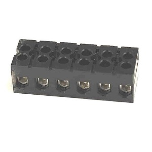 Marathon Special Products 985GP06 Terminal Block, Dead Front, 85A, 600V AC/DC, 6P, 18-4AWG CU Only