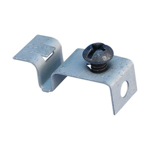 nVent Caddy BHC Box Mounting Clip for T-Grid Box Hanger with Screw, Steel