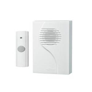 """Nutone LA223WH Wireless Chime, Portable, White, Dimensions: 3-1/4"""" x 4-3/8"""" x 1-1/4"""""""