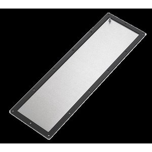 "nVent Hoffman GPS126SS6 Gland Plate, 12 x 6"" Surface Mount With Ground, Size: 7.5 x 3.75"", Stainless Steel"