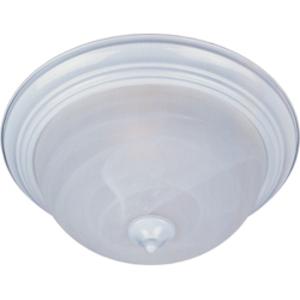 Maxim Lighting 5840MRWT Ceiling Light, 1-Light, 60W, White