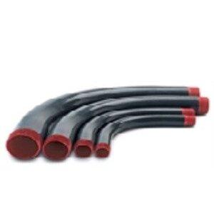 Plasti-Bond PRELB-AL-1-1/4X90 Liquidtight Connector, 90°, Size: 1-1/4 inch, PVC Coated Steel.