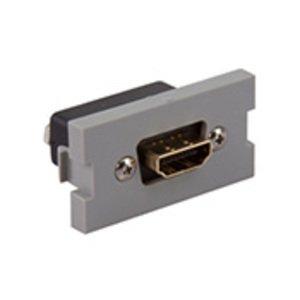 Leviton 41290-HDG HDMI Feedthrough MOS Module, Grey