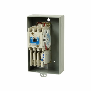 Eaton ECN0511AAA Starter, NEMA Size 1, 27A, Type 1, Non-Reversing, 120VAC Coil