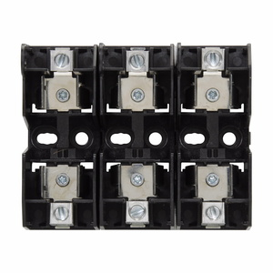 Eaton/Bussmann Series JM60060-3CR Fuse Block, Class J Modular, Cartridge Style, 3P 60A 600VAC
