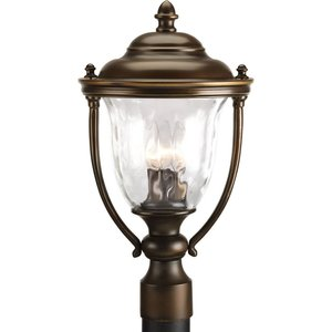 Progress Lighting P5484-108 3-Lt. post lantern