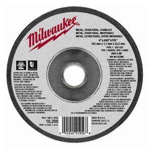 Milwaukee 49-94-6300 MILW 49-94-6300 6X.045X7/8