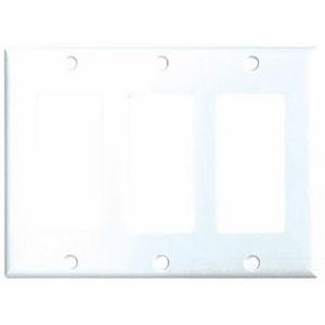 Eaton Arrow Hart 2163W-BOX EWD 2163W-BOX Wallplate 3G Decorato