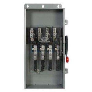 Eaton DCU3061UPM Disconnect Switch, Ungrounded, 30A, 600VDC, 3P, Non-Fusible, NEMA 4