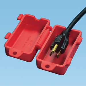 Panduit PSL-CL480 240-480V CORD LOCKOUT,RD,EA