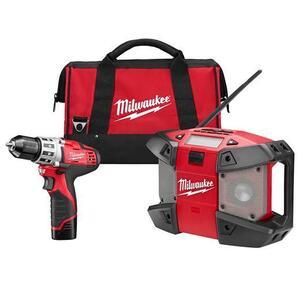 Milwaukee 249222 M12™ Cordless Lithium-Ion 2-Tool Combo Kit