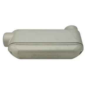 """Appleton BLB250-A 2-1/2"""" Type LB Mogul Conduit Body, NEC 6X, Aluminum, Rigid / IMC"""