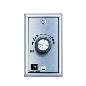 Emerson Building Products SW81 WHT VARI SPD CEILCNTRL