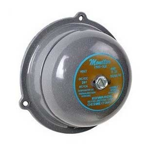 """Edwards 156G-4G5 Bell, Diameter: 4"""", 24V AC, 0.30A, Decibel: 76 @ 10', Metallic"""