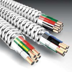 AFC 2918-60-00 MC Cable - Steel - Oversized Neutral, 12-4 Solid