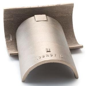 "Plasti-Bond JWHLF-SHL-CLP3 3"" Half-shell Conduit Clamp"