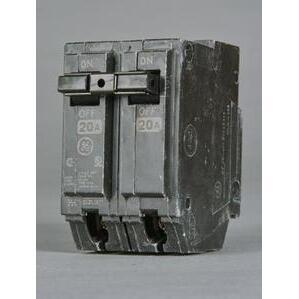 GE Industrial THHQL21100 Breaker, 100A, 120/240VAC, 2P, 22kAIC, Stab-In