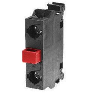 ABB MCB-01B 22mm Contact Block, 1 N.C., Modular