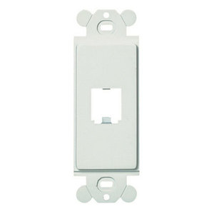 Panduit CFG1IW GFCI Frame, 1 Port, Off White