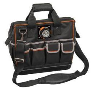 Klein 55431 31-Pocket Tradesman Pro Lighted Tool Bag