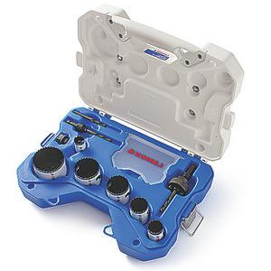 Lenox 30856C600L Electricians Holesaw Kit, Bi-metal