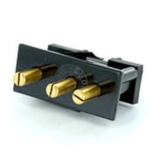 20IS-E BLK MALE INLET SNAPIN P/M 20A125V