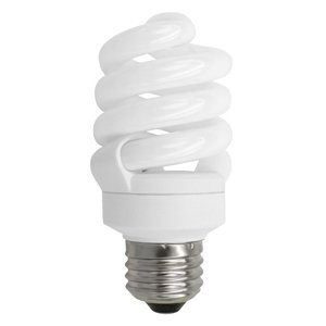 TCP 48913 Compact Fluorescent Lamp, 13W, Twister