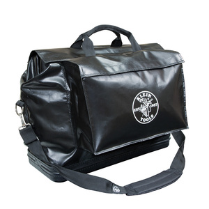 5182BLA VINYL EQUIPMENT BAG (BLACK)