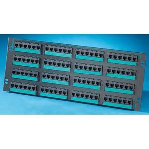 Ortronics PHD5E6U96 96PORT 110/6PORT PANEL C5E HD