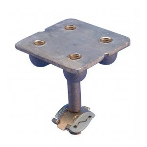 Erico Cadweld LPC682 Ground Point Plate, Brass