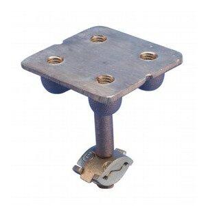 nVent Erico LPC682 Ground Point Plate, Brass
