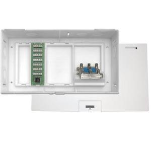 Leviton 47604-F6S MDU Kit - Enclosure, Expansion Board, 6-Way Splitter