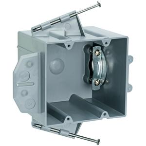 Pass & Seymour P2-42-RRD PL BX 2G 42 CU IN R+D CAPT NAIL