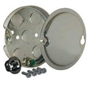 Hubbell-Raco 295 4IN ROUND CEILING FAN RATED PAN 1/2IN DEEP 1/2 KO
