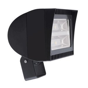 RAB FXLED78T LED Floodlight Fixture, 120 - 277 Volt, 78 Watt