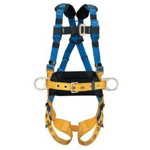 Werner Ladder H332102 LITEFIT Construction Harness, Tongue Buckle Legs (M/L)