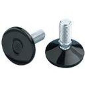 nVent Hoffman PLM12 Leveler Kit, 35mm to 17mm Adjustable Height, Steel/Plastic