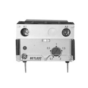 GE BETL02C Contactor, Electronic Timer, On-Delay, 0.1-2 Seconds