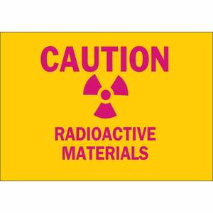 25285 RADIATION & LASER SIGN