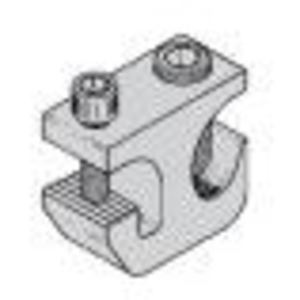 Cooper B-Line 9A-2130 Cable Tray Grounding Clamp, 6 AWG to 250 MCM, Tin Plated Aluminum