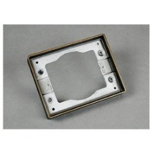 Wiremold 817TAL-BS Tile Flange, 1-Gang, Aluminum
