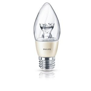 Philips Lighting 120V-END-F15-E26-6.5W-2700K-DIM LED Lamp, Dimmable, F15, 6.5W, 120V, Medium Base