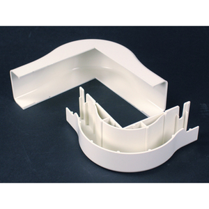 Wiremold 2918FO NM EXT. ELBOW FO/CAT5 2900 IVORY