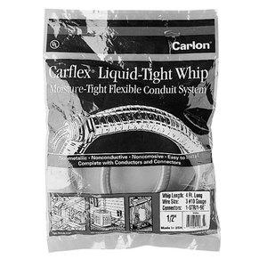 Carlon WCD4 1/2 Carflex Whip, 4 Feet