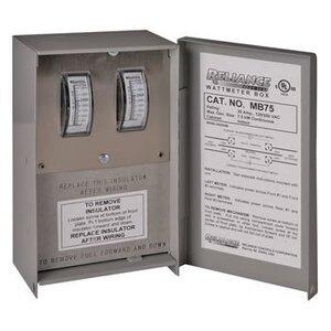 Reliance Controls MB75 Watt Meter Box - 7500W