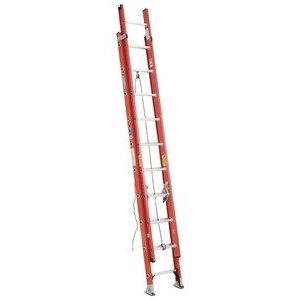 Werner Ladder D6228-2 28' D-Rung Extension Ladder, 300 lbs