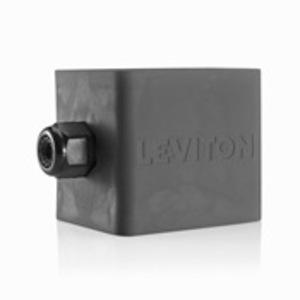 Leviton 3200-2E 2G RUBBER PENDANT BOX