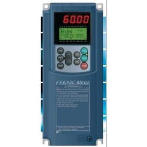 Fuji Electric FRN040G1S-4U Drive, Frenic-Mega, 40HP, 380-480VAC, 49A, Keypad, LCD Screen