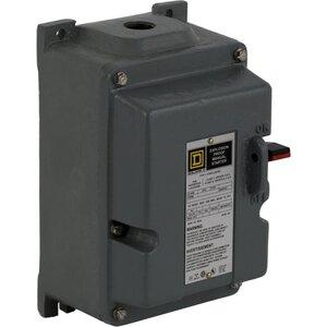 Square D 2510MCR3 Motor Starter Manual, Push Button, 600VAC, 7.5-10HP, Overload Block